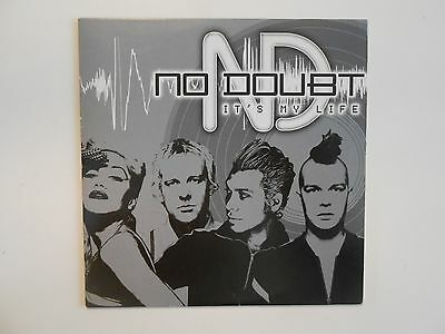 No Doubt / Gwen Stefani : It's My Life (Mark Hollis) - ( Only French Cd Promo )