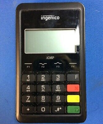 Ingenico Card Reader iCMP USB Bluetooth for POS iPad Tablet Chip Contactless