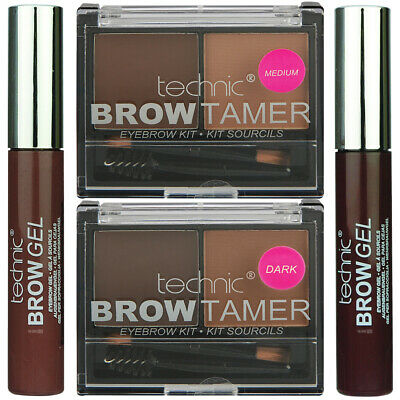 Technic Eye Brow Gel and Brow Tamer Kit Bundle.. Perfect Eyebrows