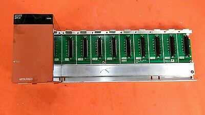 Mitsubishi Q38B / Q61P-A2 8-Slot Base Unit with Melsec Q61P-A2 Power Supply.  3A