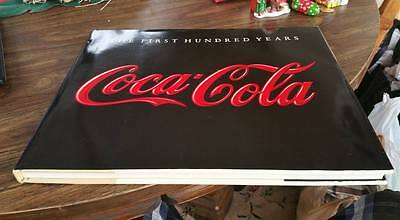 COCA-COLA: THE FIRST HUNDRED YEARS Hardcover Coffee Table Book Hoy WITH COA