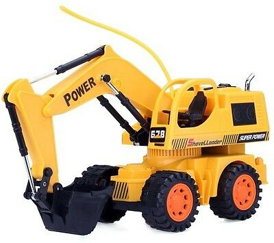 Car Remote Control Excavator Toy Car 5 CH RC Engineering