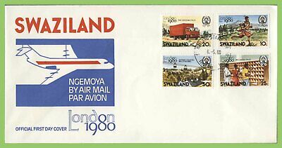 Swaziland 1980 London 80' Exhibition set on First Day Cover