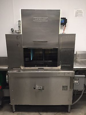 Hobart Dish Washer & Rinse, Hi Temp Conveyor CRS66, Fully Refurbish April 2016