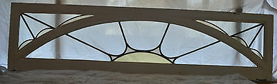 Art deco sunray leaded light stained glass window. R506a. WORLDWIDE DELIVERY!!!