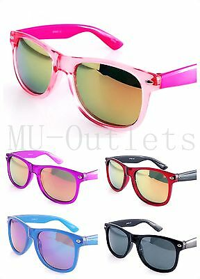 New Kids Fashion Wayfarer Sunglasses For Boys Girls Ages 3-10 Children (#F040K)