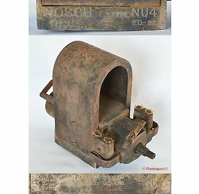 American BOSCH MAGNETO Type NU4 ED-2T Hit and Miss Old Gas Engine AS IS Pat 1905
