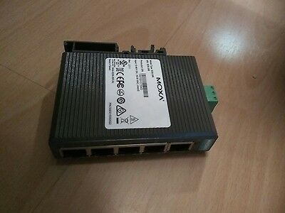 Moxa eds205 view2.1.1 5 port ethernet switch