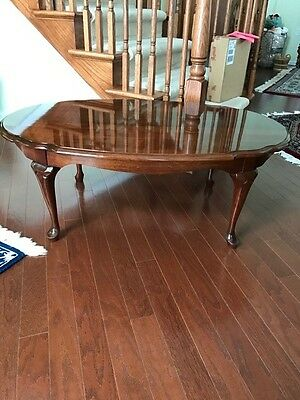 Solid Cherry Queen Anne Pennsylvania House Coffee Table And Two End Tables
