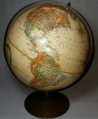 Replogle 12 inch Raised Relief Globe World Classic Series With a Metal Base