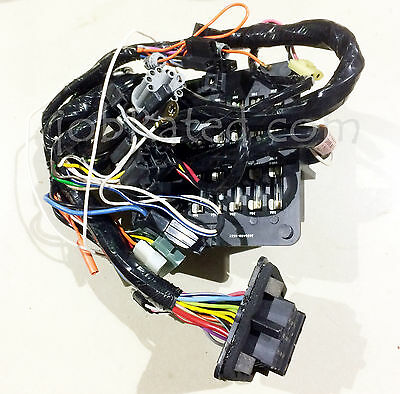DODGE TRUCK M880 Ramcharger Lil Red NOS Dash Wiring Harness & Fuse on