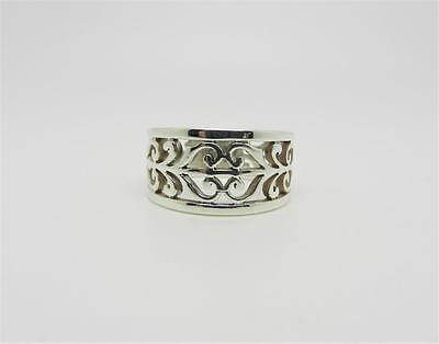 James Avery Sterling Silver Open Adorned Ring Size 5.75 - Lb-C1620