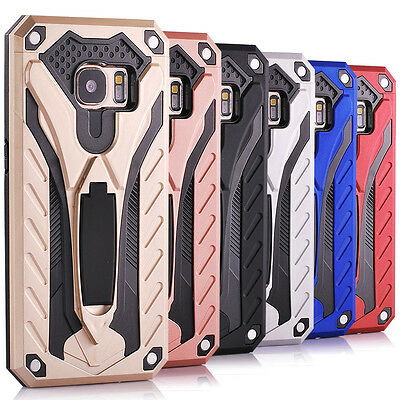 10/Lot Samsung Galaxy S7 Shockproof Rugged Kickstand Case Hybrid Rubber Cover