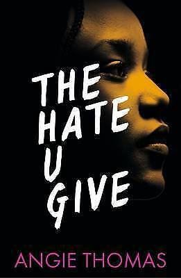 The Hate U Give by Angie Thomas Paperback Book New