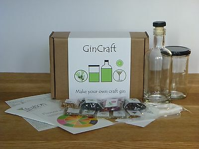 GinCraft - make your own craft style gin kit