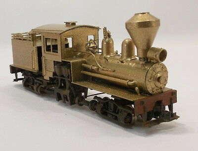 HOn3 BRASS BALBOA GEARED LOGGING TWO TRUCK 20 TON SHAY LOCO