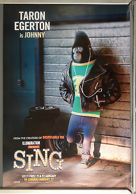 Cinema Poster: SING 2016 (Johnny One Sheet) Seth MacFarlane