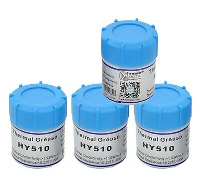 10g Grey HY510  Thermal Conductive Grease Paste GPU CPU LED Chipset Cooling M
