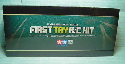 """1:10 RC TT-02-Chassis First Try On-Road """"Original"""" Tamiya - 300057986"""