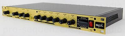 SPL Track One Mic Preamp Channel Kompressor De-esser Equalizer  + 1.5 J Garantie