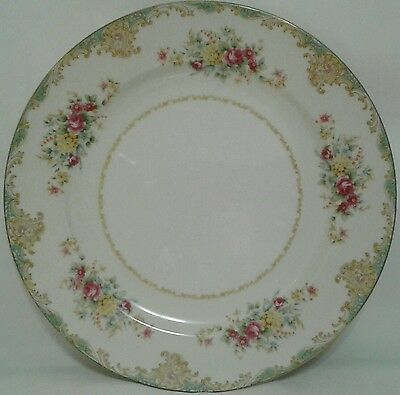 Monarch China Coronado Pattern Dinner Plates ▬ Set Of 6 ▬ Excellent Condition