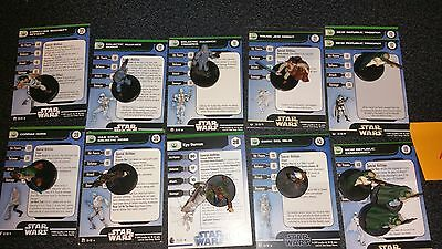 A Star Wars Miniatures New Republic 12 Mini Garm Kyp Solo Horn Trooper Scout