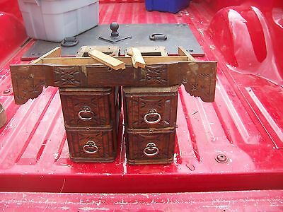 Antique Treadle Sewing Machine Drawers With Frames