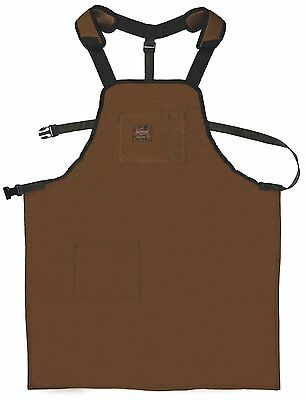 Canvas Apron with Adjustable Belt Work Durable Clothing Protection For Wood Shop