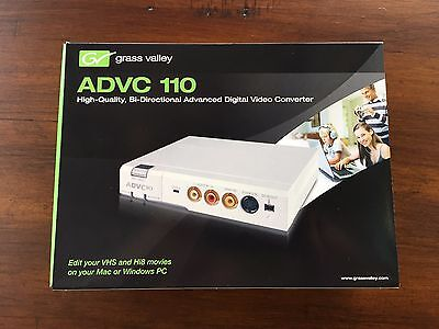 New Grass Valley ADVC110 Analog Digital Video Converter (video to/from DV)