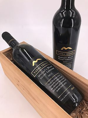 12 x Yarra Trends Shiraz Cabernet 2012 Red Wine (Victoria Only)