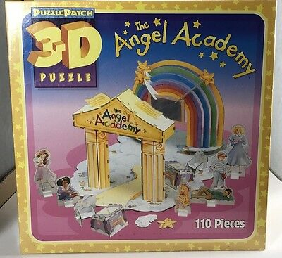 The Angel Academy 3-D Puzzle PATCH