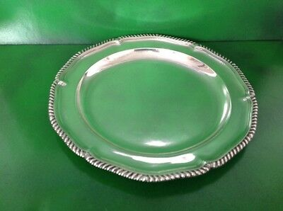 Thomas Heming Georgian Antique English Sterling Silver Dinner Plate Charger 1770
