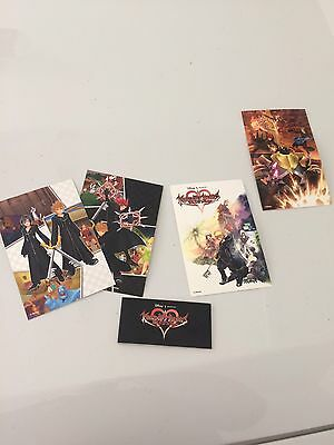 Kingdom Hearts 358/2 Days postcards