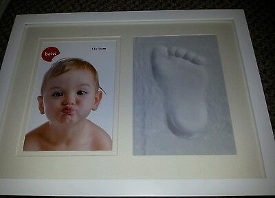 Picture frame with modelling clay
