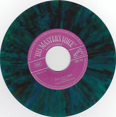 "Swinging Blue Jeans - The Hippy Hippy Shake 7"" MultiColored HMV Original"
