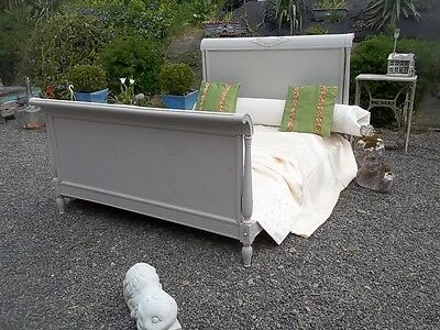 French Empire Style Antique Fabulous Double Bedstead So Elegant And Classic