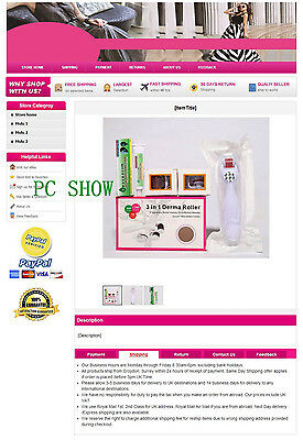 No Active No JS New eBay Fashional HTML Mobile Friendly Listing Templates