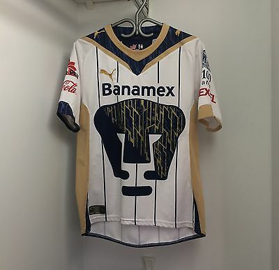 Puma Pumas UNAM 2009/10 Home Jersey Medium Short Sleeve SS Liga MX