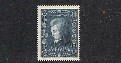STAMPS   from  AUSTRIA   1956   W.A. MOZART  (MNH)  lot A195