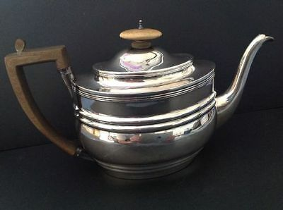 Georgian Antique English Sterling Silver Teapot London 1804