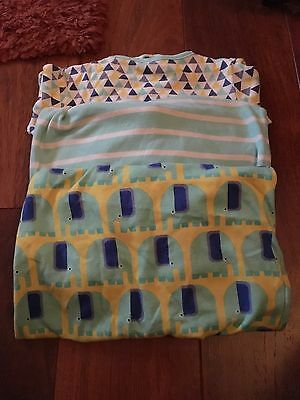 Next Baby Boys Sleep Suits. 12-18 months. Pack of 3. Good Condition