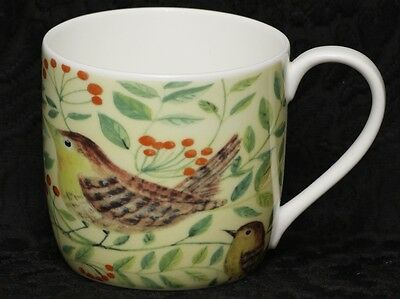 ROSE of ENGLAND WREN Fine Bone China Barrel Mug