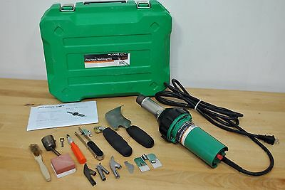 Floor Dot Pro Heat Plastic Welding Gun Kit Roofing & Flooring Seaming Tool Set