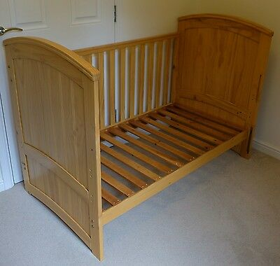 Tutti Bambini Cot Bed with John Lewis Coir Mattress