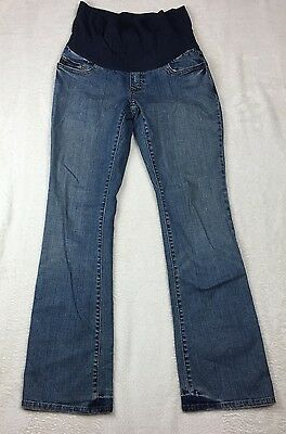 Old Navy Maternity Jeans Women's Size Small Long Stretch Boot Cut Stretch (B103)