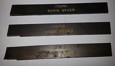 """Williams High Speed 3/4"""" High Parting Blade (Lot of 2)"""