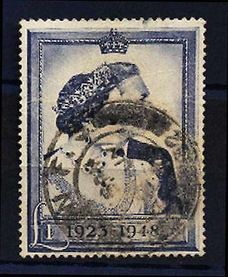 1948 Great Britain 25Th Wedding Anniversary Royalty Used Stamp S50