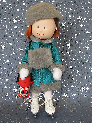 """Madeline 8"""" doll Eden/LearningCurve GREEN ICE SKATING Clothes Outfit Set"""