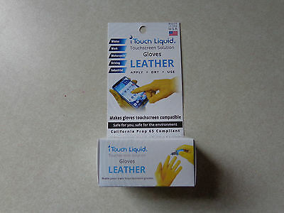 I Touch Liquid Touch Screen Solution For Leather Gloves
