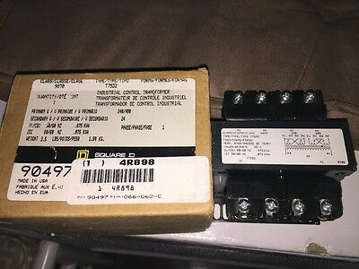 Square D 9070T75D2 Industrial Control Transformer 240/480V 50/60Hz NEW